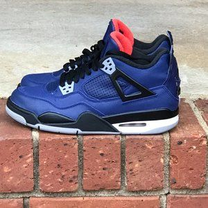 Air Jordan Retro 4 Winterized Loyal Blue GS